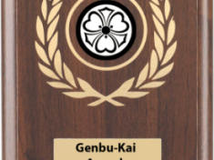 Genbu-Kai Awards Plaque