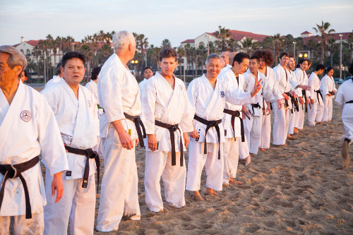 2016 Kangeiko at Huntington Beach