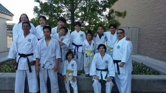 Group picture of Genbu-Kai students from Santa Ana dojo