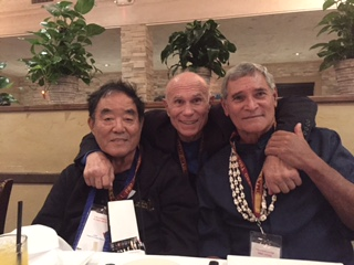 Sensei Demura, Pat Johnson and unnamed