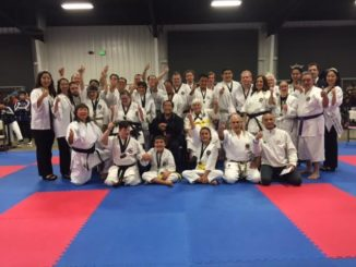 Special Division group photo with Demura Sensei