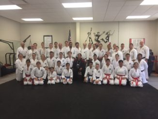 Seminar participants with Sensei Demura during annual Genbu-Kai Minnesota weekend