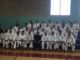 Seminar participants with Sensei Demura during annual Super Summer Seminars